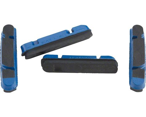 Campagnolo Brake Pad Inserts for PEO Rims (Blue) (2 Pairs) (Campagnolo Holder)