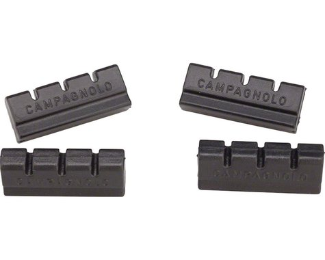 Campagnolo Old Style Brake Pad Inserts (Black) (2 Pairs)