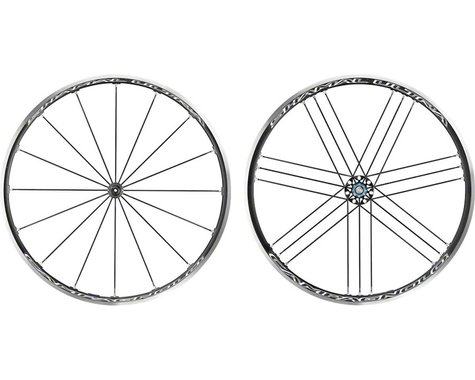 Campagnolo Shamal Ultra Wheelset (Black) (Campagnolo 10/11/12) (QR x 100, QR x 130mm) (700c / 622 ISO)