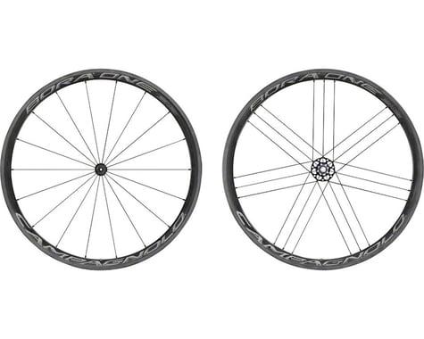 Campagnolo Bora One 35 Carbon Wheelset (Dark Label) (Campagnolo 10/11/12) (QR x 100, QR x 130mm) (700c / 622 ISO)