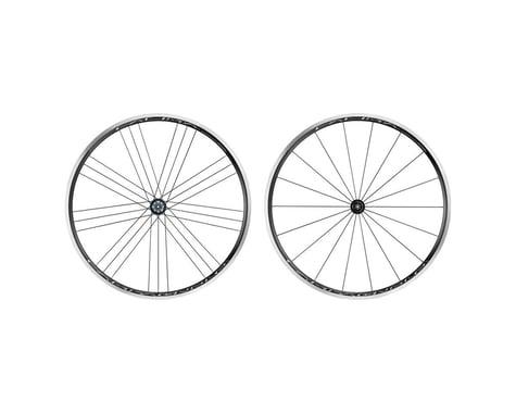 Campagnolo Calima Wheelset (Black) (Campagnolo 10/11/12) (QR x 100, QR x 130mm) (700c / 622 ISO)