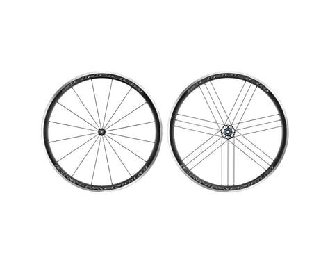 Campagnolo Scirocco Wheelset (Black) (Campagnolo 10/11/12) (QR x 100, QR x 130mm) (700c / 622 ISO)