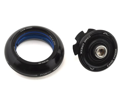 Cane Creek 40 Short Cover Top Headset (Black) (IS42/28.6)