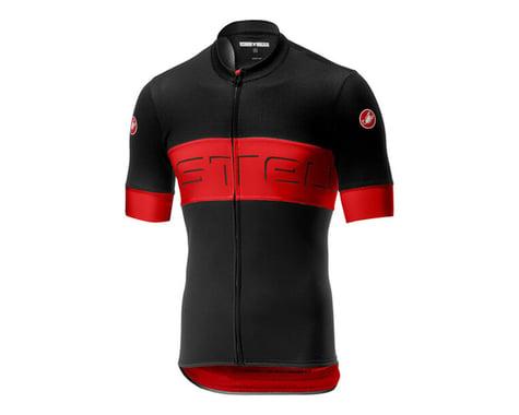 Castelli Prologo VI Short Sleeve Jersey (Black/Red) (2XL)