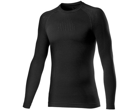 Castelli Core Seamless Long Sleeve Base Layer (Black) (L/XL)