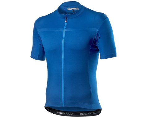 Castelli Classifica Short Sleeve Jersey (Azzurro Italia) (S)
