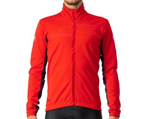 Castelli Transition 2 Jacket (Red/Savile Blue-Red Reflex) (S)