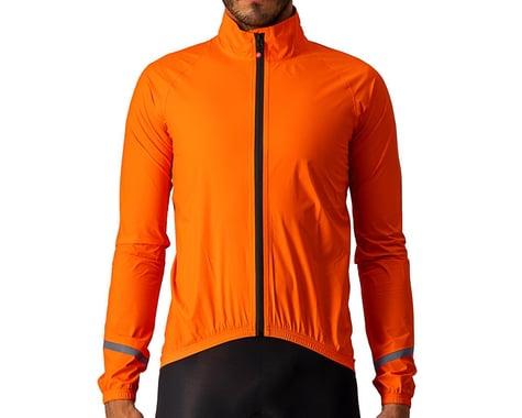 Castelli Men's Emergency 2 Rain Jacket (Brilliant Orange) (S)
