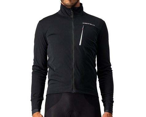 Castelli Go Jacket (Light Black/White) (S)
