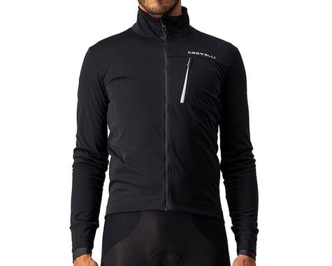 Castelli Go Jacket (Light Black/White) (2XL)