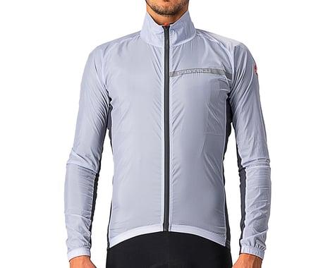 Castelli Men's Squadra Stretch Jacket (Silver Grey/Dark Grey) (S)