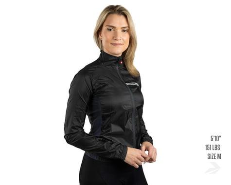 Castelli Women's Squadra Stretch Jacket (Light Black/Dark Grey) (XS)