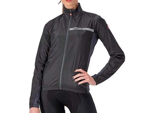 Castelli Women's Squadra Stretch Jacket (Light Black/Dark Grey) (M)