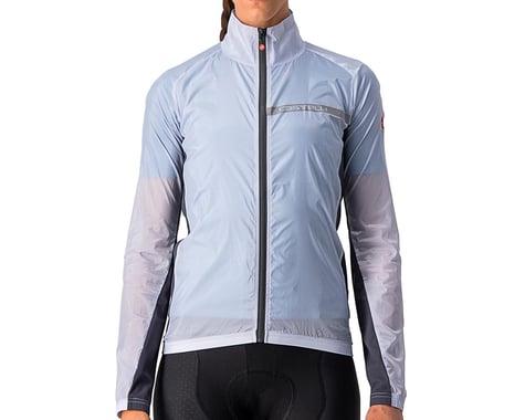 Castelli Women's Squadra Stretch Jacket (Silver Grey/Dark Grey) (XS)
