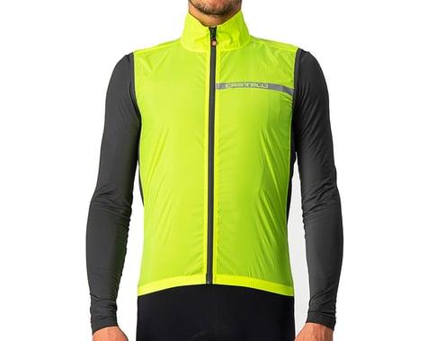 Castelli Squadra Stretch Vest (Yellow Fluo/Dark Grey) (S)