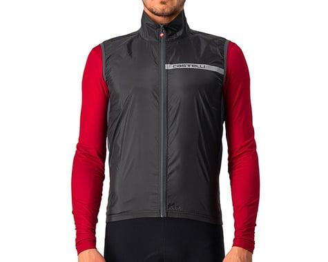 Castelli Squadra Stretch Vest (Light Black/Dark Grey) (S)