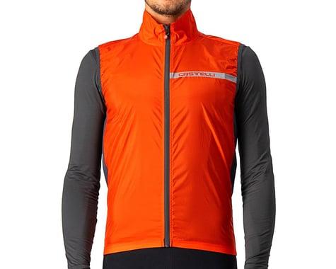 Castelli Squadra Stretch Vest (Fiery Red/Dark Grey) (S)