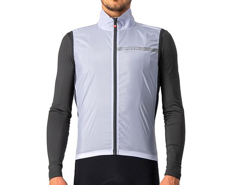 Castelli Squadra Stretch Vest (Silver Grey/Dark Grey) (S)