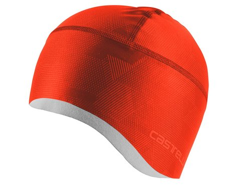 Castelli Pro Thermal Skully (Fiery Red) (Universal Adult)