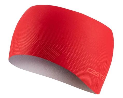 Castelli Pro Thermal Headband (Red) (Universal Adult)