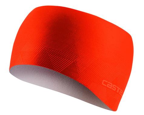Castelli Pro Thermal Headband (Fiery Red) (Universal Adult)