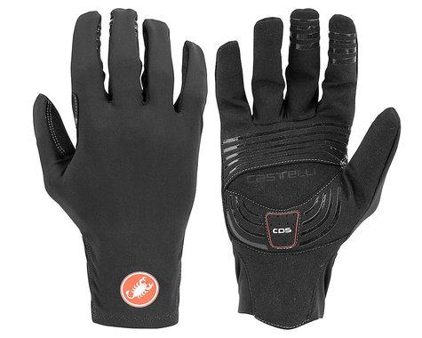 Castelli Lightness 2 Long Finger Gloves (Black) (M)