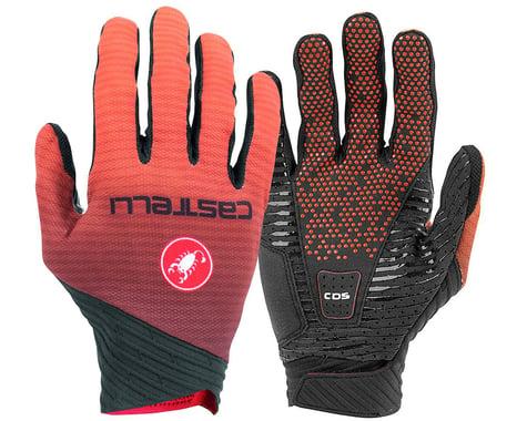 Castelli CW 6.1 Cross Long Finger Gloves (Orange) (M)