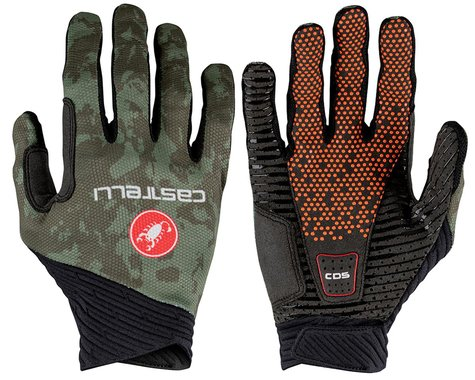 Castelli CW 6.1 Unlimited Long Finger Gloves (Military Green) (S)