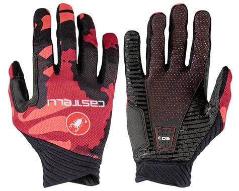Castelli CW 6.1 Unlimited Long Finger Gloves (Bordeaux) (S)