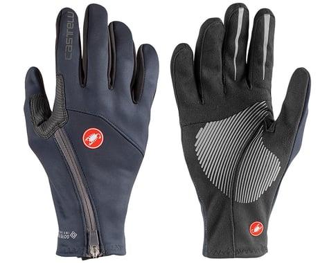 Castelli Mortirolo Long Finger Gloves (Savile Blue) (2XL)