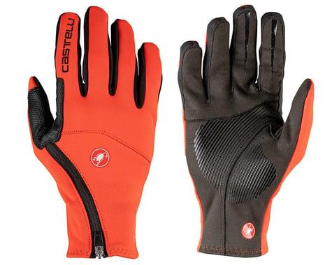 Castelli Mortirolo Long Finger Gloves (Fiery Red) (S)
