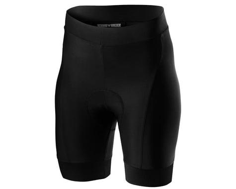 Castelli Women's Prima Short (Black/Dark Grey) (S)