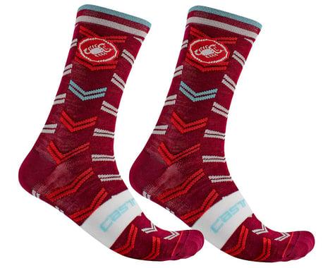 Castelli Men's Transition 18 Socks (Pro Red) (S/M)