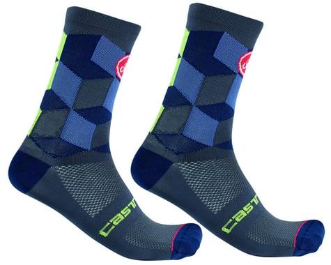 Castelli Unlimited 15 Sock (Dark Steel Blue) (S/M)
