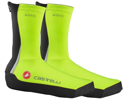 Castelli Intenso UL Shoe Covers (Yellow Fluo) (S)