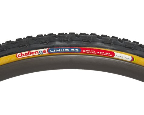 Challenge Limus Pro Handmade Clincher Tire (Tan Wall) (33mm) (700c / 622 ISO)