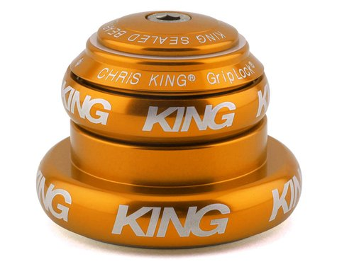 """Chris King NoThreadSet Tapered Headset (Gold) (1-1/8"""" to 1-1/2"""") (EC34/28.6) (EC44/40)"""