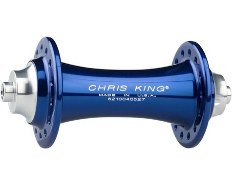Chris King R45 QR Front Hub (Navy) (28 Hole)