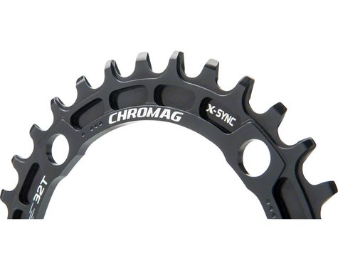 Chromag Sequence X-Sync Chainring (104mm BCD) (Ai Offset) (32T)