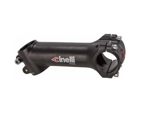 Cinelli Pista Alloy Track Stem (Black) (31.8mm) (100mm) (25°)