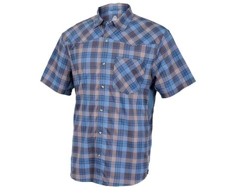 Club Ride Apparel New West Short Sleeve Shirt (Steel Blue)