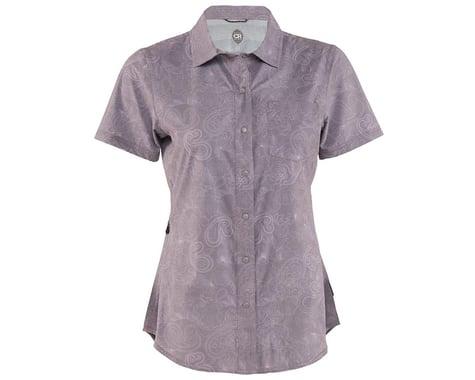 Club Ride Apparel Women's Camas Short Sleeve Jersey (Steel Print)