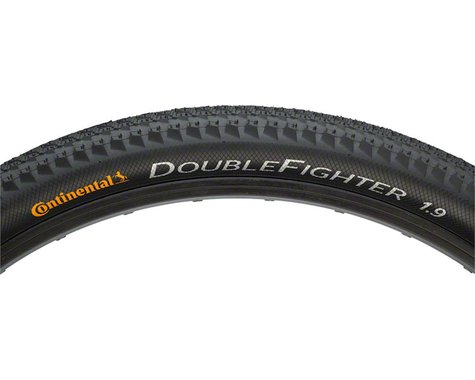 """Continental Double Fighter III Tire (Black) (1.9"""") (26"""" / 559 ISO)"""