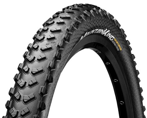 """Continental Mountain King Shieldwall System Tubeless Tire (Black) (2.3"""") (26"""" / 559 ISO)"""