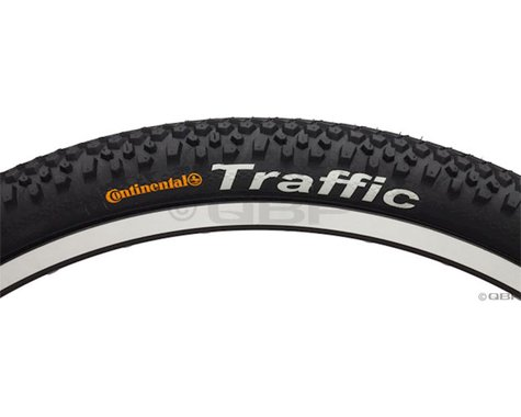 "Continental Traffic Tire (Black) (2.1"") (26"" / 559 ISO)"