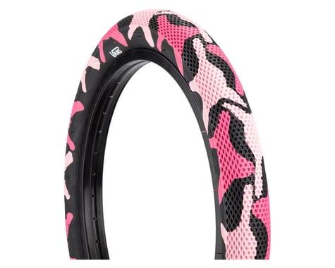 "Cult Vans Tire (Pink Camo/Black) (Wire) (2.4"") (20"" / 406 ISO)"