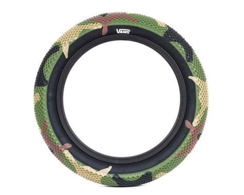"Cult Vans Tire (Green Camo/Black) (Wire) (2.3"") (18"" / 355 ISO)"