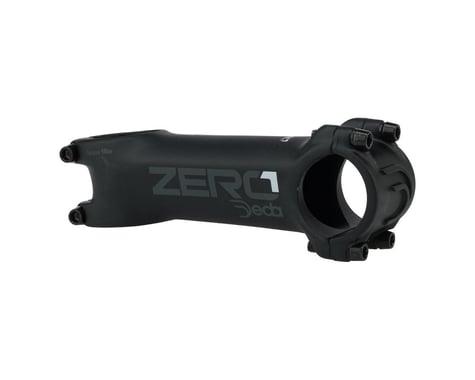 """Deda Elementi Zero1 Stem - 90mm, 31.8 Clamp, +/-6, 1 1/8"""", Aluminum, Matte Black"""