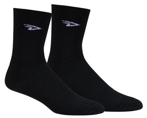 "DeFeet Aireator 5"" Sock (Black) (XL)"