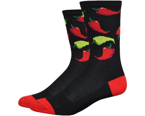 "DeFeet Aireator 6"" Scoville Socks (Black) (M)"